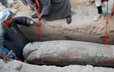 Несколько мумий найдено в др…