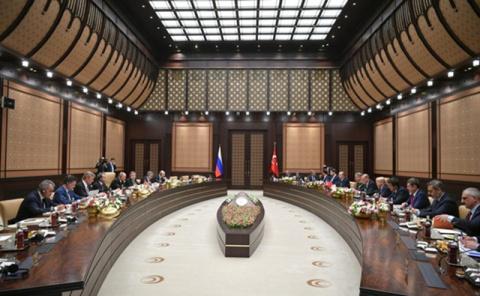 Путин и Эрдоган обсудили торговлю, Сирию и Иерусалим