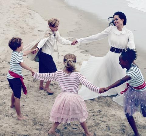 """Семейная фотосессия """"Бранджелины"""""""