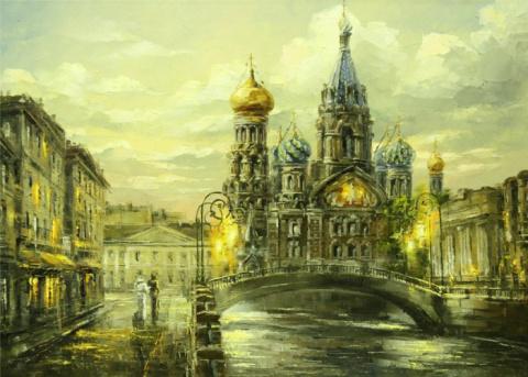 Романтический Петербург художника Игоря Кирсанова