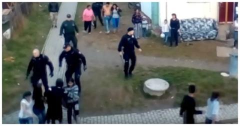 Словацкие полицейские провели профилактические мероприятия в цыганском квартале