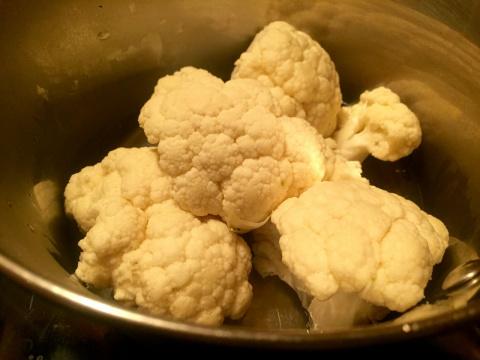 Пюре из цветной капусты , вкуснейшая альтернатива картофельному