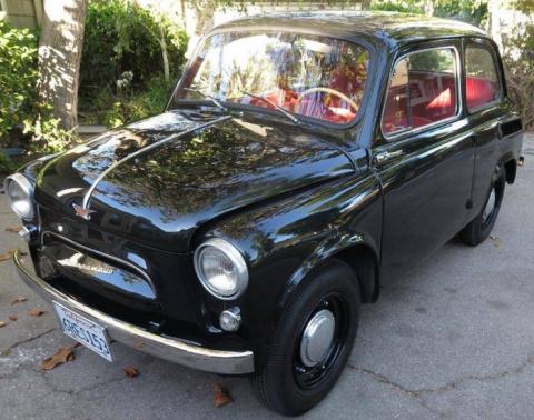 Найдено на eBay. Четкий ЗАЗ-965А в Калифорнии