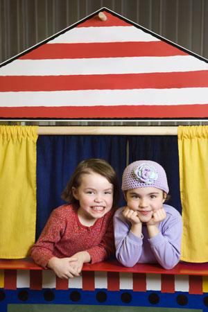 Детский театр своими руками: кукольный театр, театр теней и другие – у вас дома