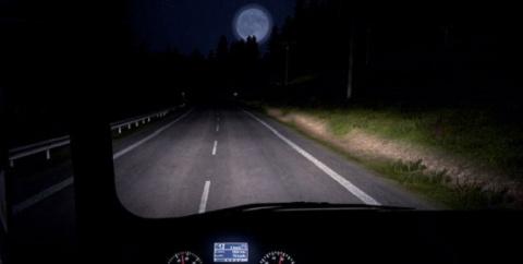 МОТОСКАЗ. Как правильно ездить ночью
