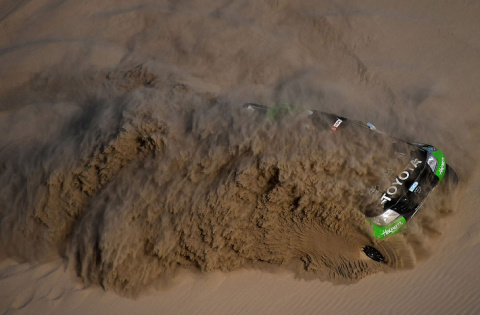Ралли Дакар 2018: гонка в пустыне