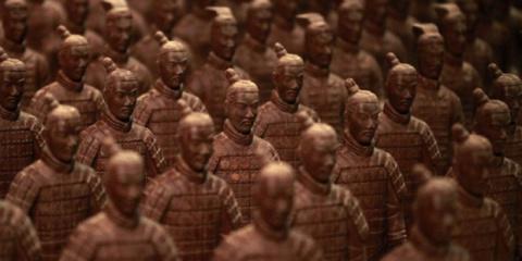 «Шоколадная страна чудес» в Шанхае