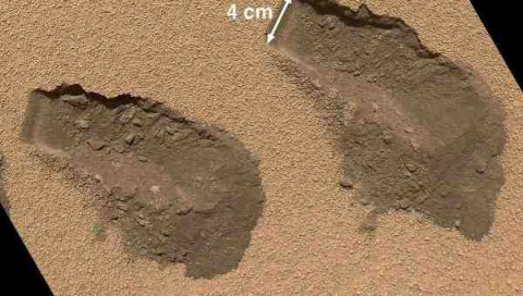 Curiosity нашел на Марсе орг…