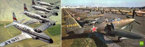 США бомбили СССР еще в 1950г