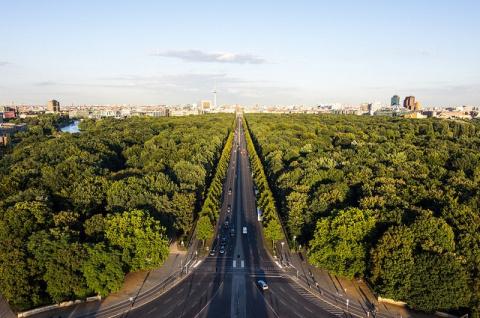 Парк Большой Тиргартен, Германия