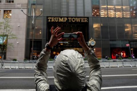 Небоскрёб Трамп-тауэр в Нью-Йорке: форпост Президента