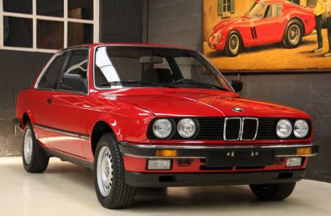 В Бельгии нашли новую BMW 1985 года