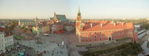 Варшава — город, восставший из руин