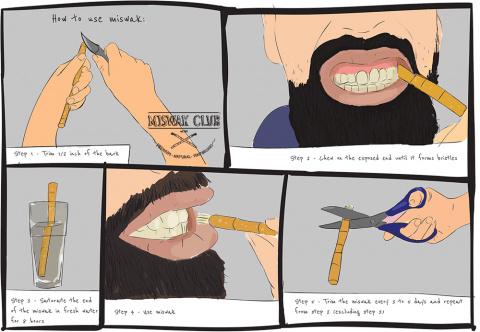 Альтернатива зубной щетке