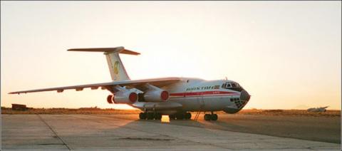 Захват самолета Ил-76 в Кандагаре в 1995 году