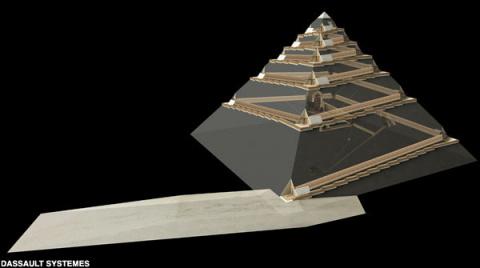 Как строили пирамиды. Теория Жан-Пьера Удена
