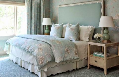 Идеальный цвет для спальни: …