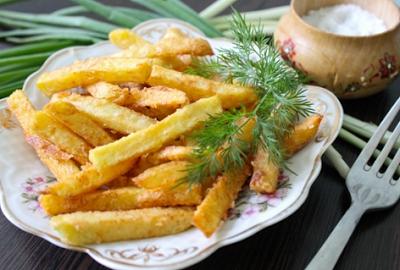 Домашний картофель фри - вку…
