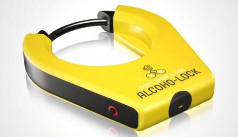 Алкотестер для велосипедиста