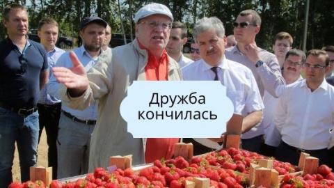 Жириновский о Грудинине: он …