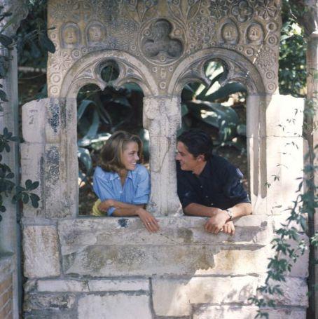 Джейн Фонда и Ален Делон.1964 год.