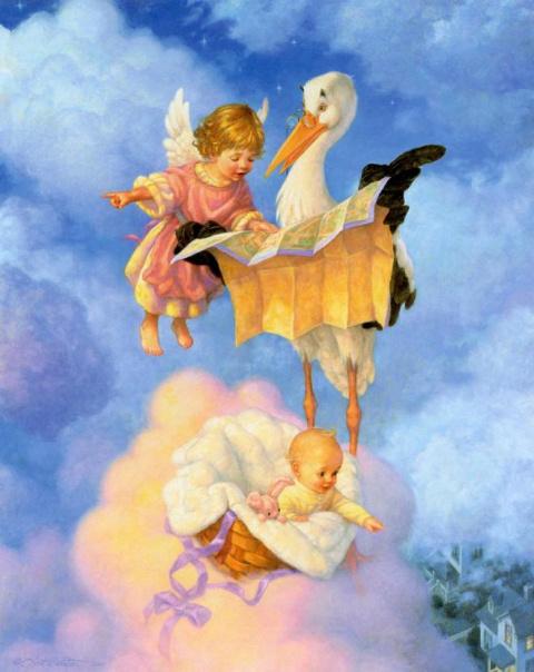 Сказочные иллюстрации Скотта Густафсона