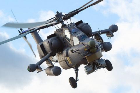 Авиационный полк ЗВО усилился ударным вертолетом Ми-28Н «Ночной охотник»
