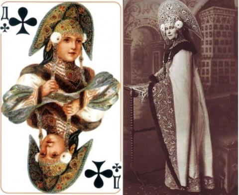 Кто скрывался за рисунками на популярной в СССР колоде игральных карт. Вы ни за что не догадаетесь!