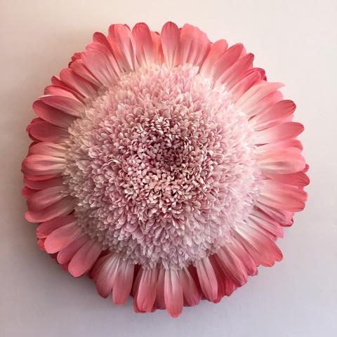 Гигантские бумажные цветы Ти…