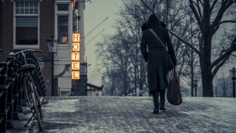 Улицы Амстердама в фотографи…