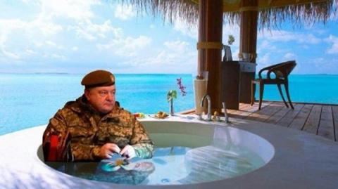 Порошенко покинул Украину по…