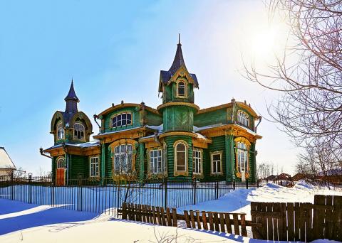 Сказочные дома: деревянное зодчество