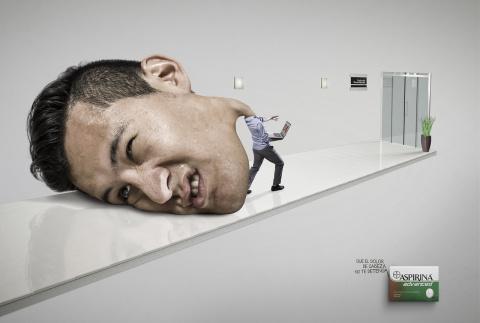 Реклама таблеток от головной боли