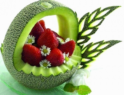 КАРВИНГ Художественная резьба по овощам и фруктам Часть 2-я
