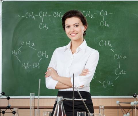 Я преподаю химию в колледже …