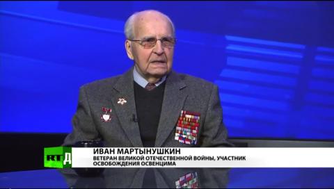 Ветеран: Украинцы, освобождавшие Освенцим — не те, чьи внуки воюют в Донбассе и стоят на «майданах»