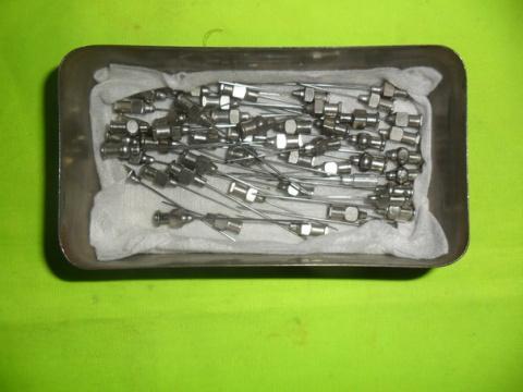 Стерилизация металлических и…