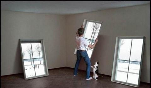 УЮТ. Ложное окно. Как создать иллюзию окна