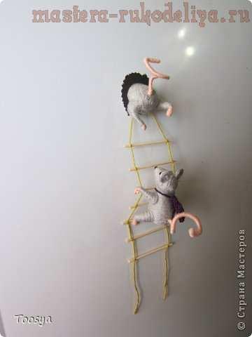 """Магнит """"Мышки-воришки"""""""
