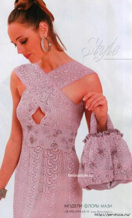 Ирина_Зелёная: Платье и сумк…