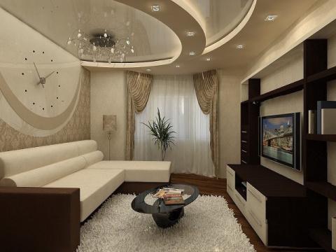 Очень красивый дизайн зала