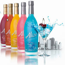 Спиртные напитки.  Ликёр Alize (Ализе)