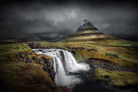 Холодная  красота Исландии