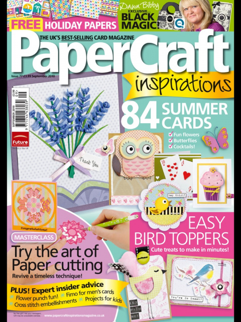 PaperCraft Inspirations 09 (77) 2010 (открытки)