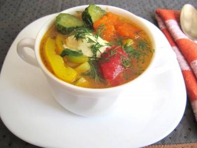 Овощной суп «Семь в одном»