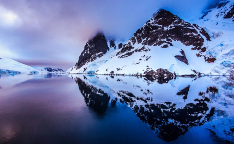 Строгая красота Антарктики
