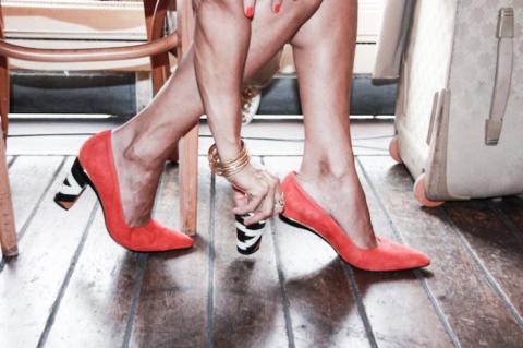 Туфли-трансформеры со сменны…