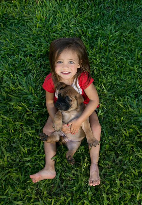 50 фотографий, доказывающих, что вашим детям нужна собака
