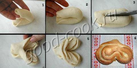 Ещё способы разделки плюшек и булочек