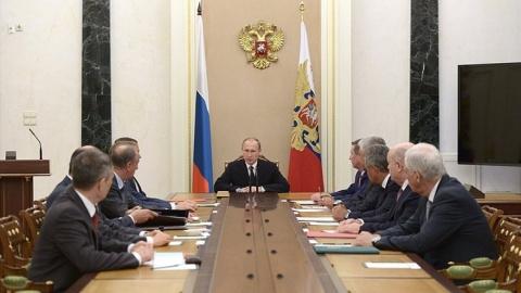 Путин обсудил с Совбезом эфф…